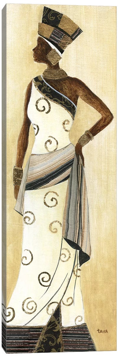 Holiday Dress III Canvas Art Print