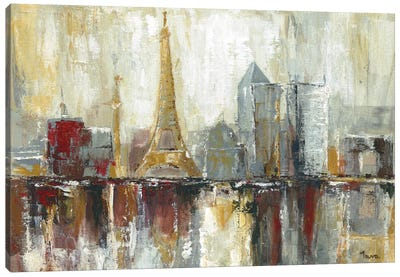 Paris Icons Canvas Art Print