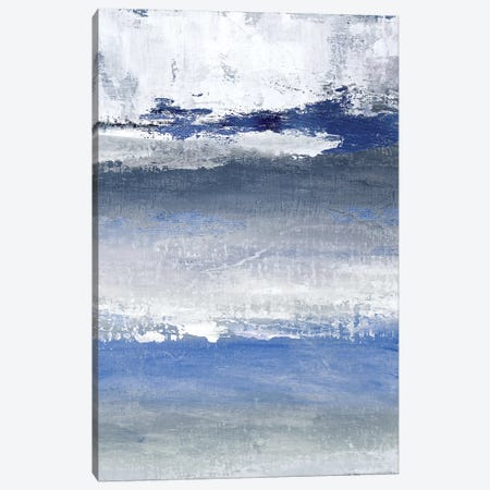 Soft Solace Indigo Canvas Print #TAV125} by Tava Studios Canvas Print
