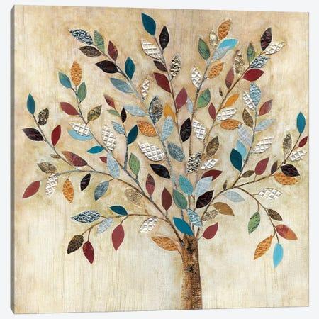 Whimsical Wood Canvas Print #TAV127} by Tava Studios Art Print