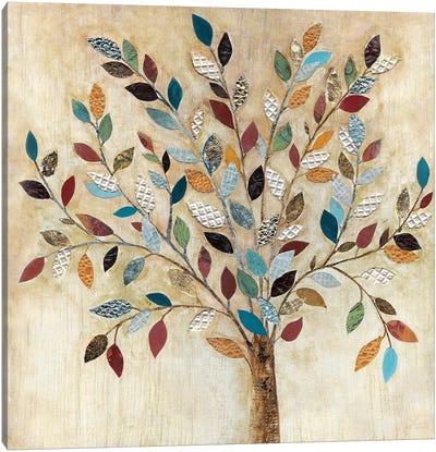 Whimsical Wood Canvas Art Print