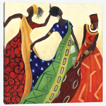 Women of Marrakesh I Canvas Print #TAV128} by Tava Studios Canvas Wall Art
