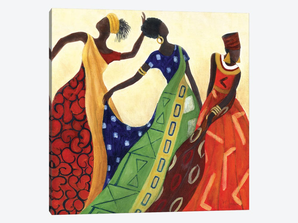Women of Marrakesh I by Tava Studios 1-piece Canvas Artwork