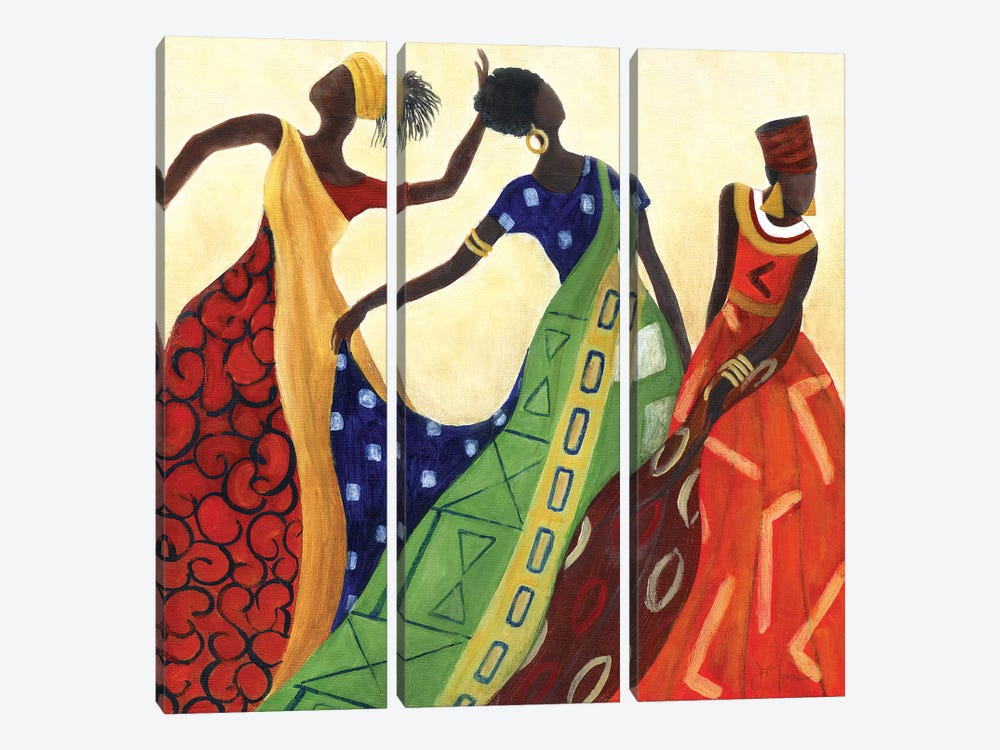 Women of Marrakesh I by Tava Studios 3-piece Canvas Artwork