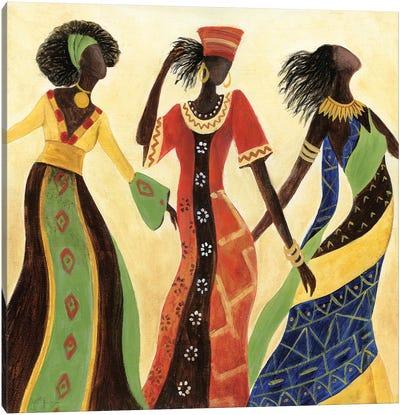 Women of Marrakesh II Canvas Art Print
