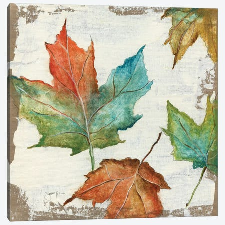 Fall Leaves Canvas Print #TAV12} by Tava Studios Canvas Print