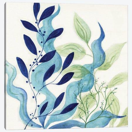 Blue Coral I Canvas Print #TAV130} by Tava Studios Canvas Print