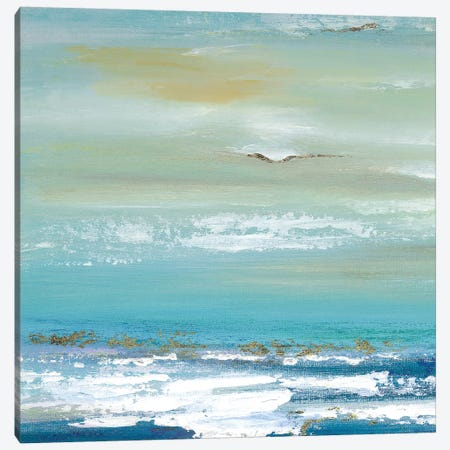 Distant Horizon - Detail I Canvas Print #TAV133} by Tava Studios Canvas Art Print