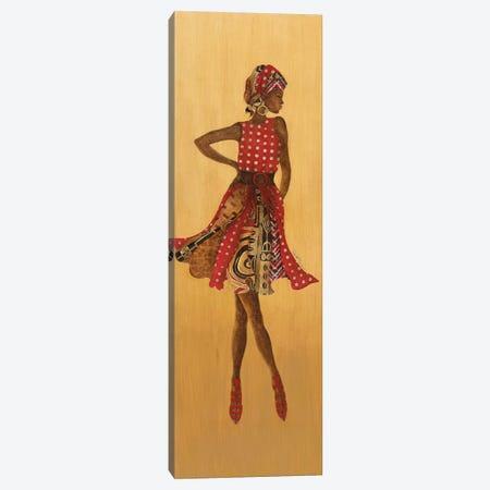Ebony Style I Canvas Print #TAV135} by Tava Studios Canvas Artwork