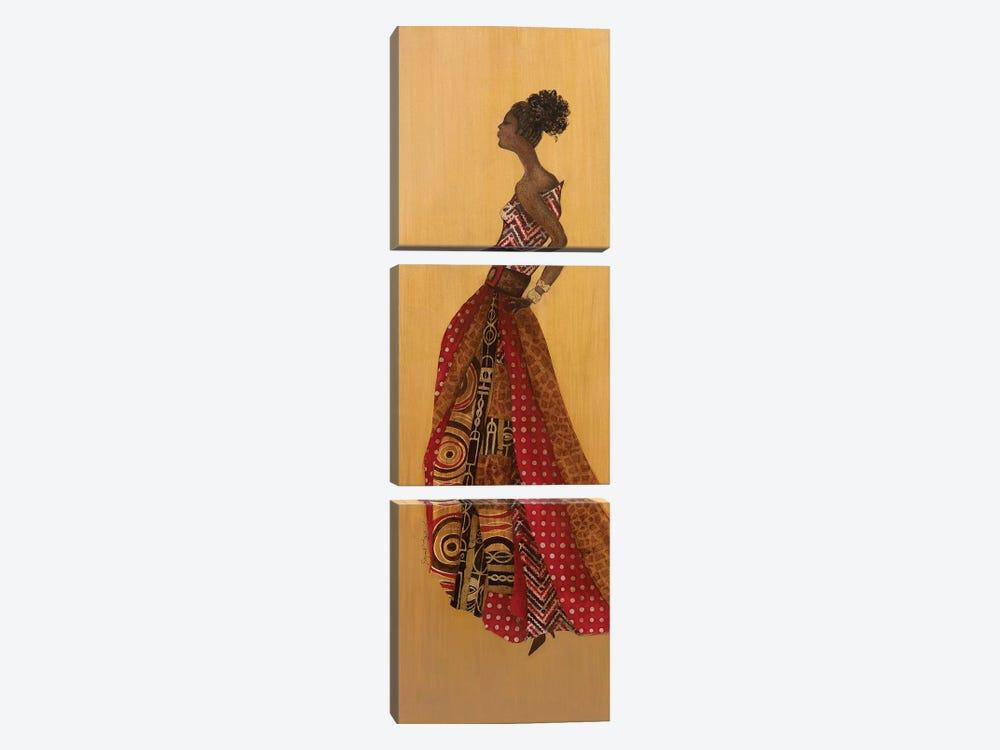 Ebony Style II by Tava Studios 3-piece Canvas Print