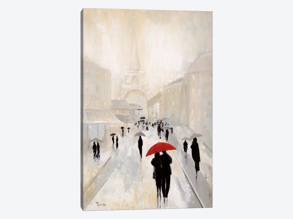 Misty In Paris by Tava Studios 1-piece Canvas Art