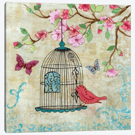 Spring Fling I Canvas Print #TAV150} by Tava Studios Canvas Print