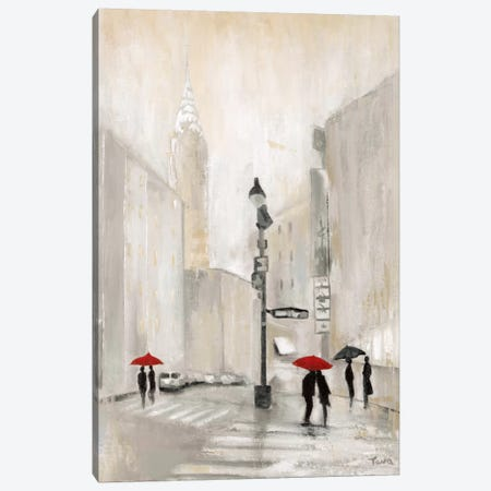 New York Shadows Canvas Print #TAV15} by Tava Studios Canvas Wall Art