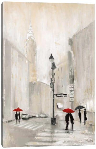 New York Shadows Canvas Art Print