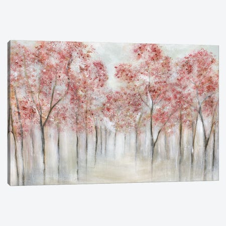 Blushing Spring Canvas Print #TAV161} by Tava Studios Canvas Art