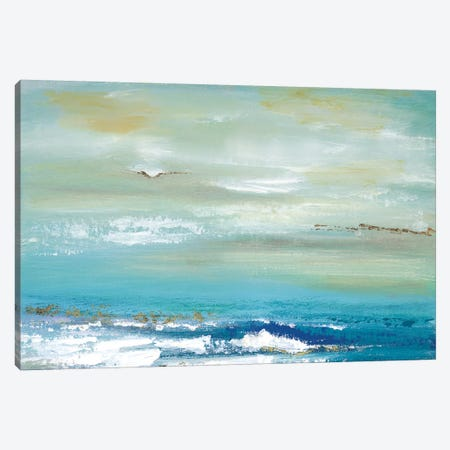 Distant Horizon 3-Piece Canvas #TAV164} by Tava Studios Canvas Print