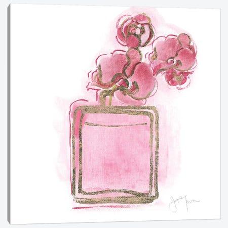 Golden Perfume I Canvas Print #TAV167} by Tava Studios Canvas Print