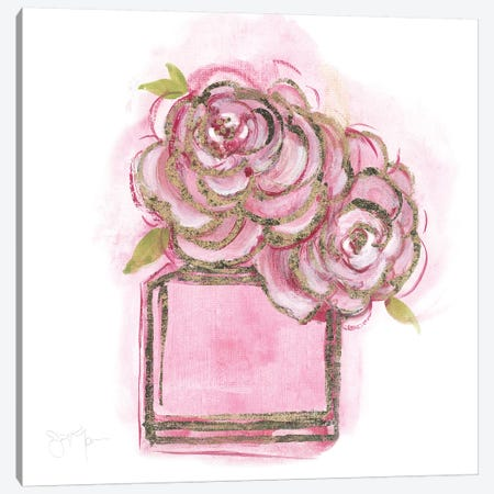 Golden Perfume II Canvas Print #TAV168} by Tava Studios Canvas Artwork