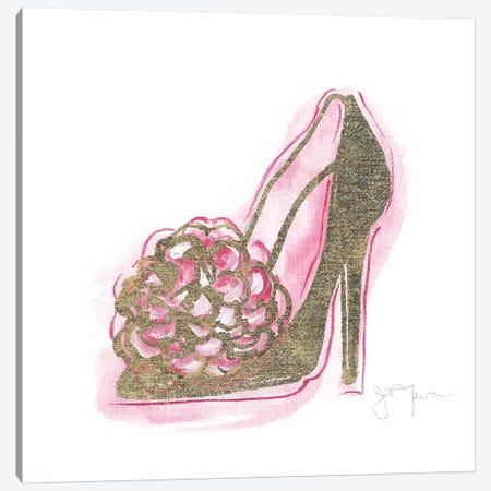 Golden Shoe II Canvas Print #TAV170} by Tava Studios Canvas Art Print
