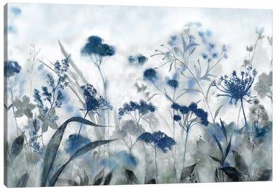 Inky Indigo Canvas Art Print