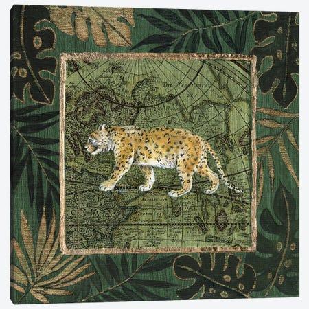 Jungle Leopard Canvas Print #TAV172} by Tava Studios Canvas Art Print