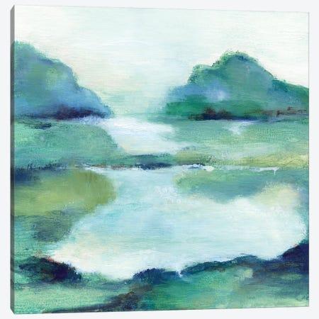 Lush Valley I Canvas Print #TAV175} by Tava Studios Canvas Art