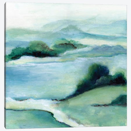 Lush Valley II Canvas Print #TAV176} by Tava Studios Canvas Wall Art