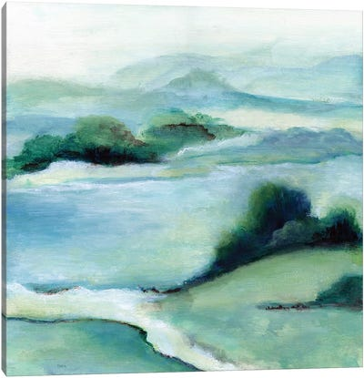 Lush Valley II Canvas Art Print