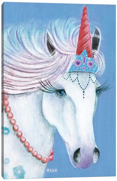 Unicorn I Canvas Art Print