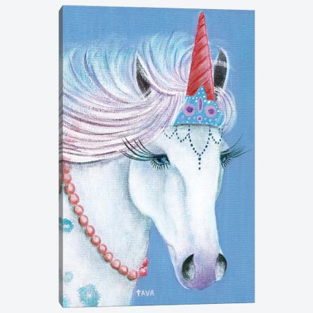 Unicorn I Canvas Print #TAV184} by Tava Studios Canvas Print