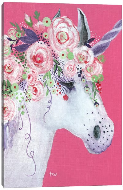 Unicorn II Canvas Art Print