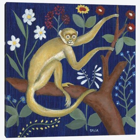 Venezia Monkey Garden II Canvas Print #TAV189} by Tava Studios Canvas Wall Art