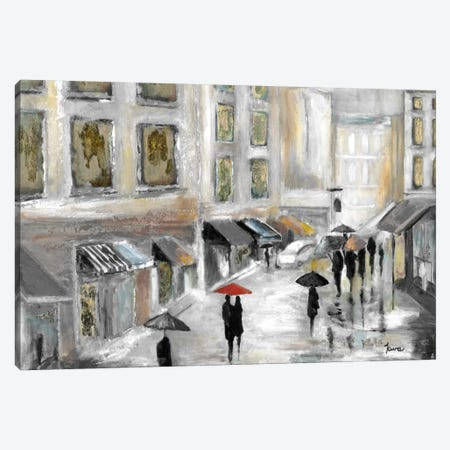 Sunday Market Canvas Print #TAV18} by Tava Studios Canvas Print