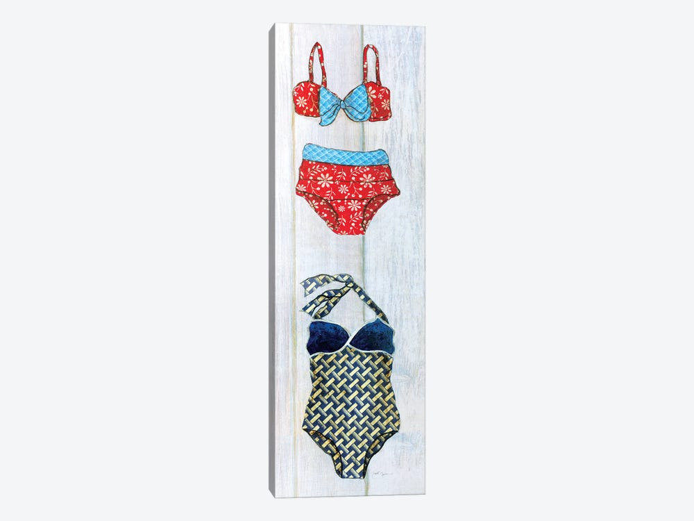 Vintage Bathing Suit Detail I by Tava Studios 1-piece Canvas Art