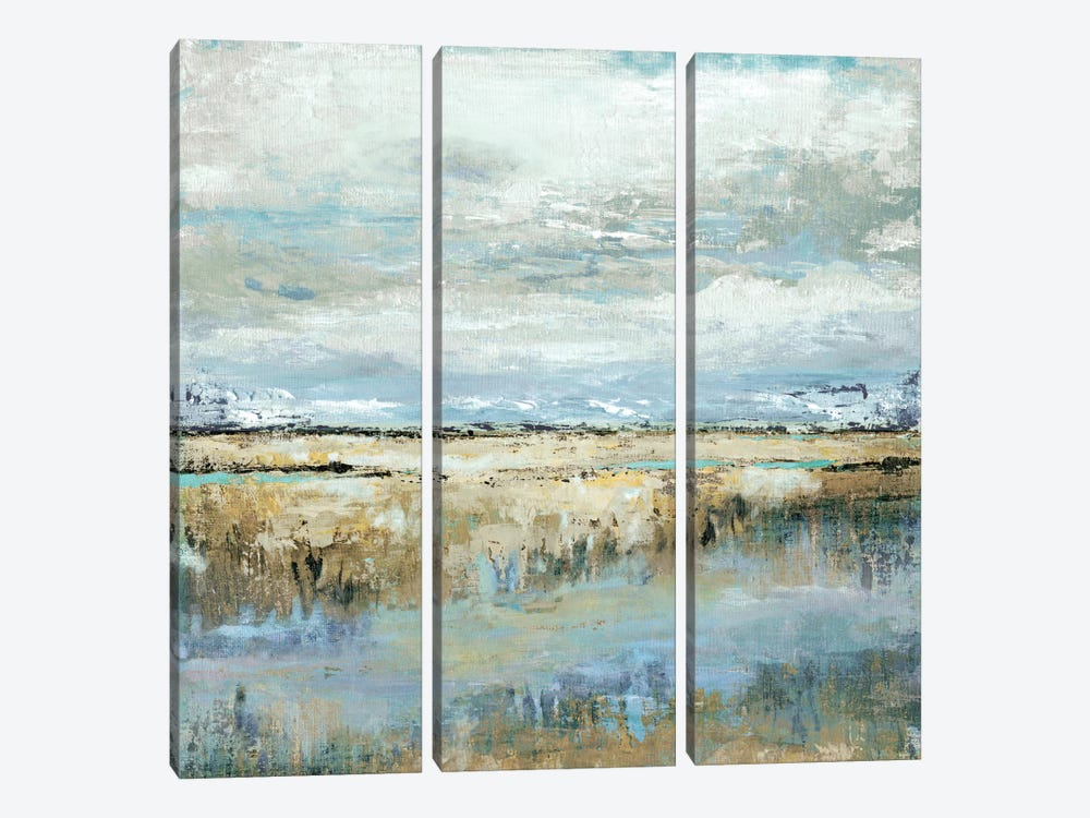 Coastal Marsh by Tava Studios 3-piece Canvas Print