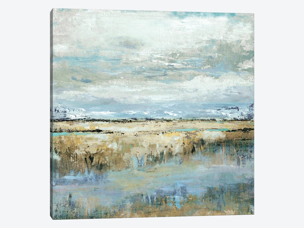 Coastal Marsh by Tava Studios 1-piece Canvas Art Print