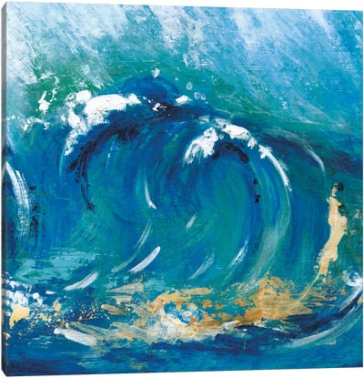 Big Surf I Canvas Art Print