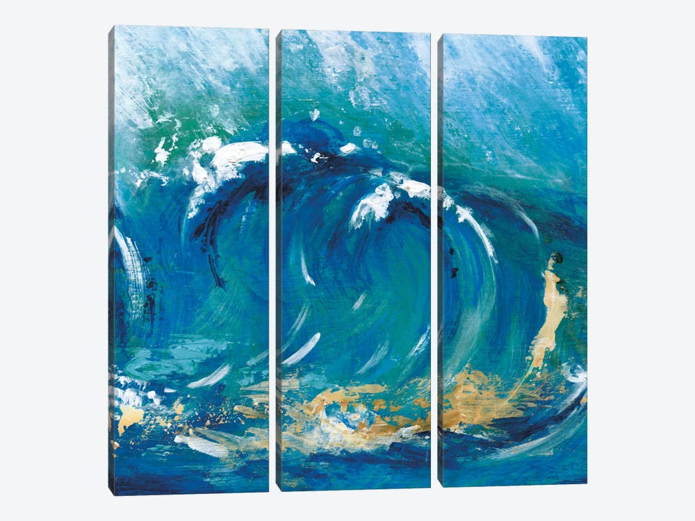 Big Surf I by Tava Studios 3-piece Canvas Print