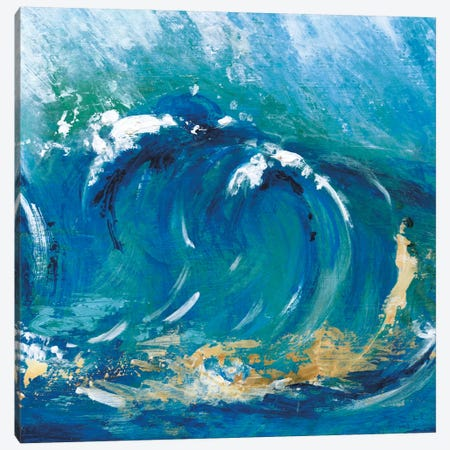 Big Surf I Canvas Print #TAV1} by Tava Studios Canvas Art Print