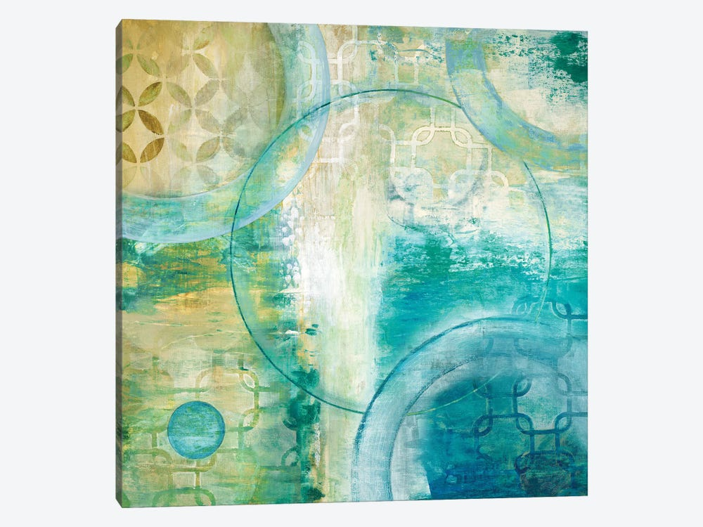 Teal Aire I by Tava Studios 1-piece Canvas Print