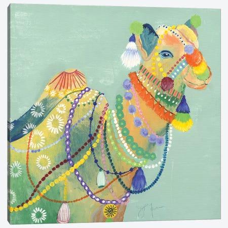 Pushkar Fair I Canvas Print #TAV210} by Tava Studios Canvas Wall Art