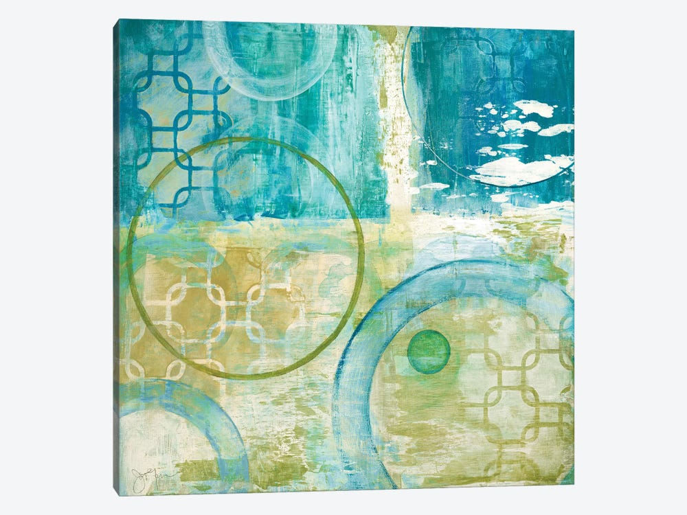 Teal Aire II by Tava Studios 1-piece Canvas Wall Art