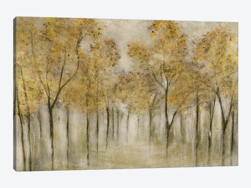 Golden Spring Canvas Art Print By Tava Studios Icanvas