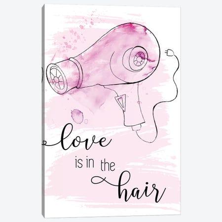 Love Is In The Hair Canvas Print #TAV223} by Tava Studios Canvas Art Print