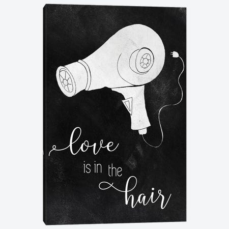 Love The Hair Canvas Print #TAV224} by Tava Studios Canvas Art