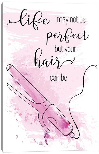 Perfect Hair Canvas Art Print