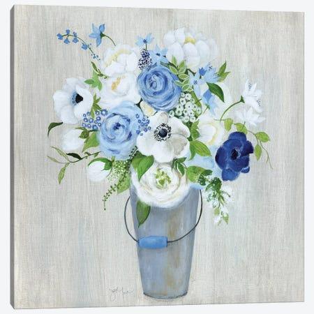 Provence Market Flowers I Canvas Print #TAV227} by Tava Studios Canvas Wall Art