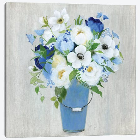 Provence Market Flowers II Canvas Print #TAV228} by Tava Studios Canvas Print