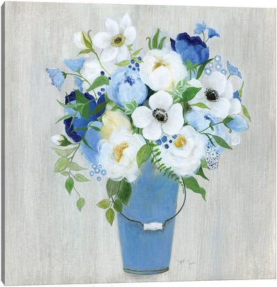 Provence Market Flowers II Canvas Art Print