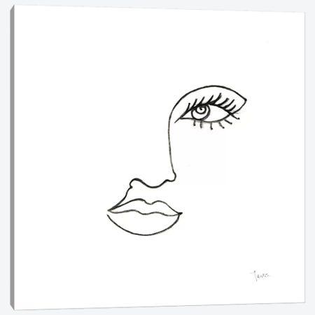 Vogue Look I Canvas Print #TAV230} by Tava Studios Canvas Wall Art